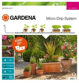 Gardena Gardena 13001 Micro Drip Startset bloempotten M