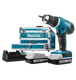 Makita Makita DF457DWEX6 Boormachine Zwart, Blauw
