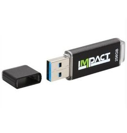 Mushkin Mushkin IMPACT 256GB 256GB USB 3.0 Zwart USB flash drive
