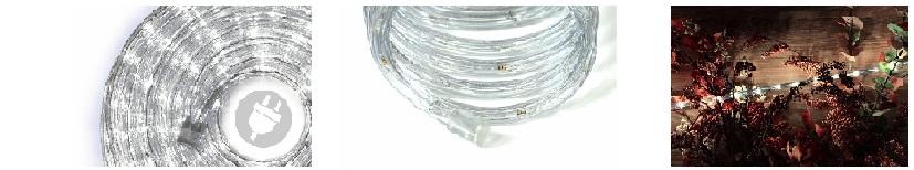 Lichtslang LED koud wit