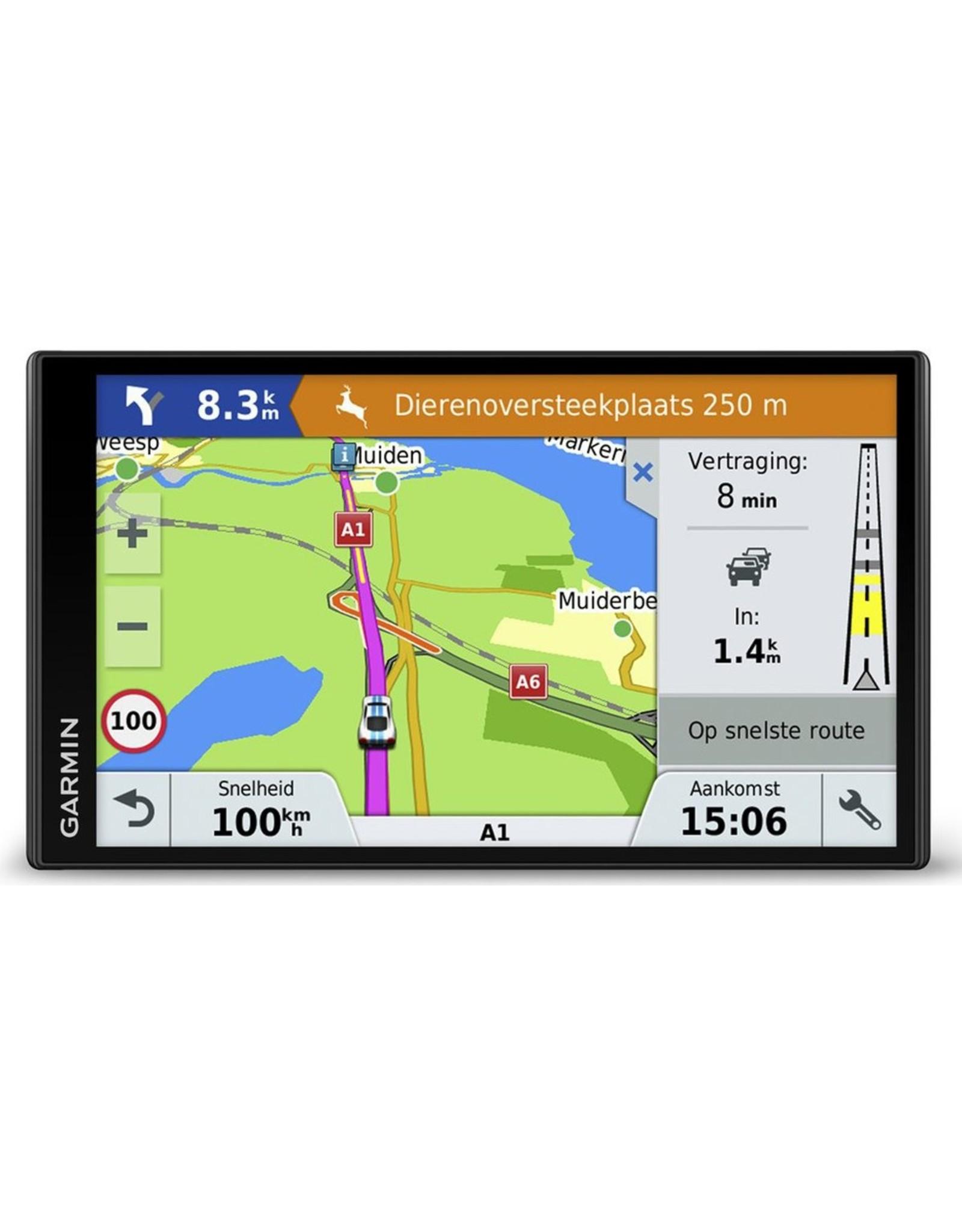 Garmin Garmin DriveSmart 61 LMT-S Vast 6.95 TFT Touchscreen 243g Zwart