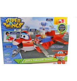 Super Super Wings Jett' s Take-off Tower