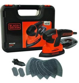 Black & Decker Black & Decker Mouse KA2500K-QS 120W schuurmachine