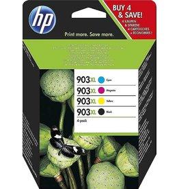 HP HP 3HZ52AE Zwart, Cyaan, Magenta, Geel 1600pagina's inktcartridge