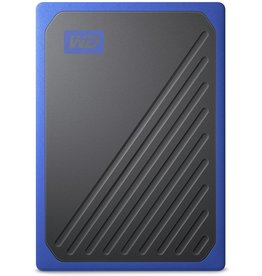 """Western Digital WD - Western Digital """"My Passport Go"""" Portable SSD Drive, 500GB, USB 3.0, cobalt blue"""