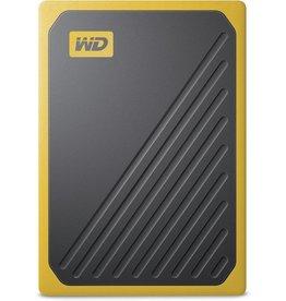 "WD WD - Western Digital ""My Passport Go"" Portable SSD Drive, 500GB, USB 3.0, black/yellow"