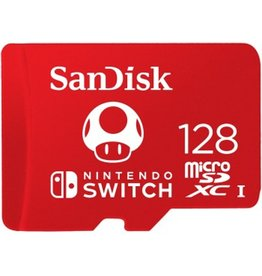 Sandisk SanDisk microSDXC Extreme 128GB (U3/UHS-I/Cl.10/R100/W90) for Nintendo Switch