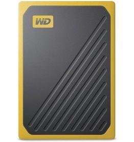 """Western Digital WD - Western Digital """"My Passport Go"""" Portable SSD Drive, 1TB, USB 3.0, amber"""
