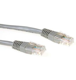 IIGLO CAT5E UTP patchcable grijs 1m