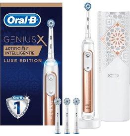 Braun Oral-B Genius X 20000 Luxe Edition Elektrische Tandenborstel - Rosegold