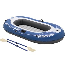 Sevyler Sevylor Pvc Opblaasboot - Caravelle Kk65 Kit - 2-persoons - Blauw