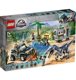 Lego LEGO Jurassic World Confrontatie met Baryonyx: de Schattenjacht - 75935
