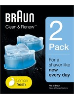 Braun Braun Clean and Renew 2-stuks