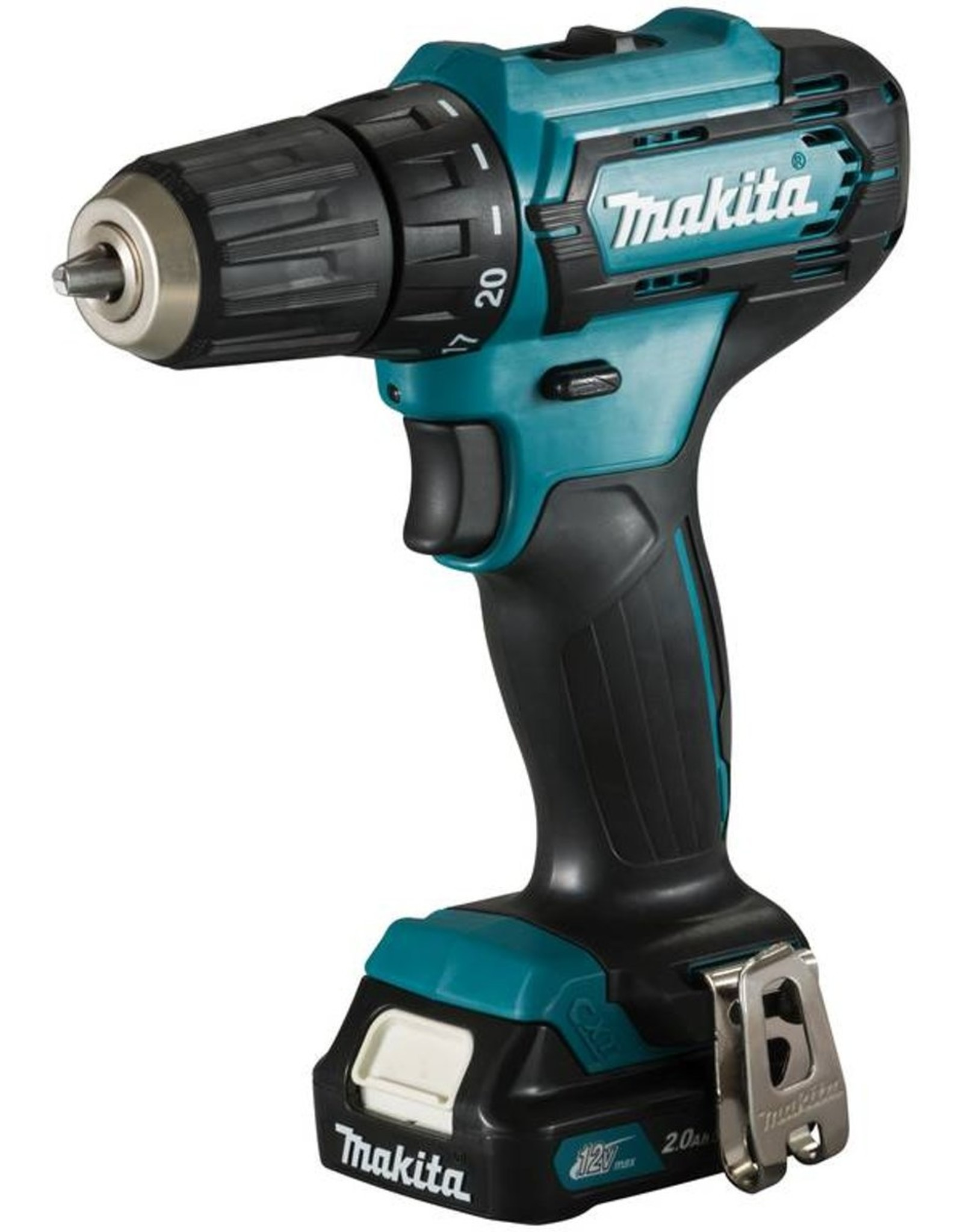 Makita Makita Accuboor-/schroefmachine DF333DSAE 10,8V incl. 2x 2,0Ah accus