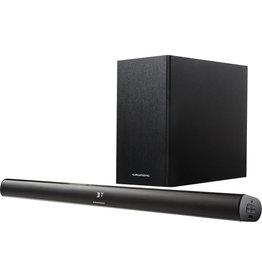 Grundig Grundig DSB 990 2.1 soundbar luidspreker 2.1 kanalen 80 W Zwart