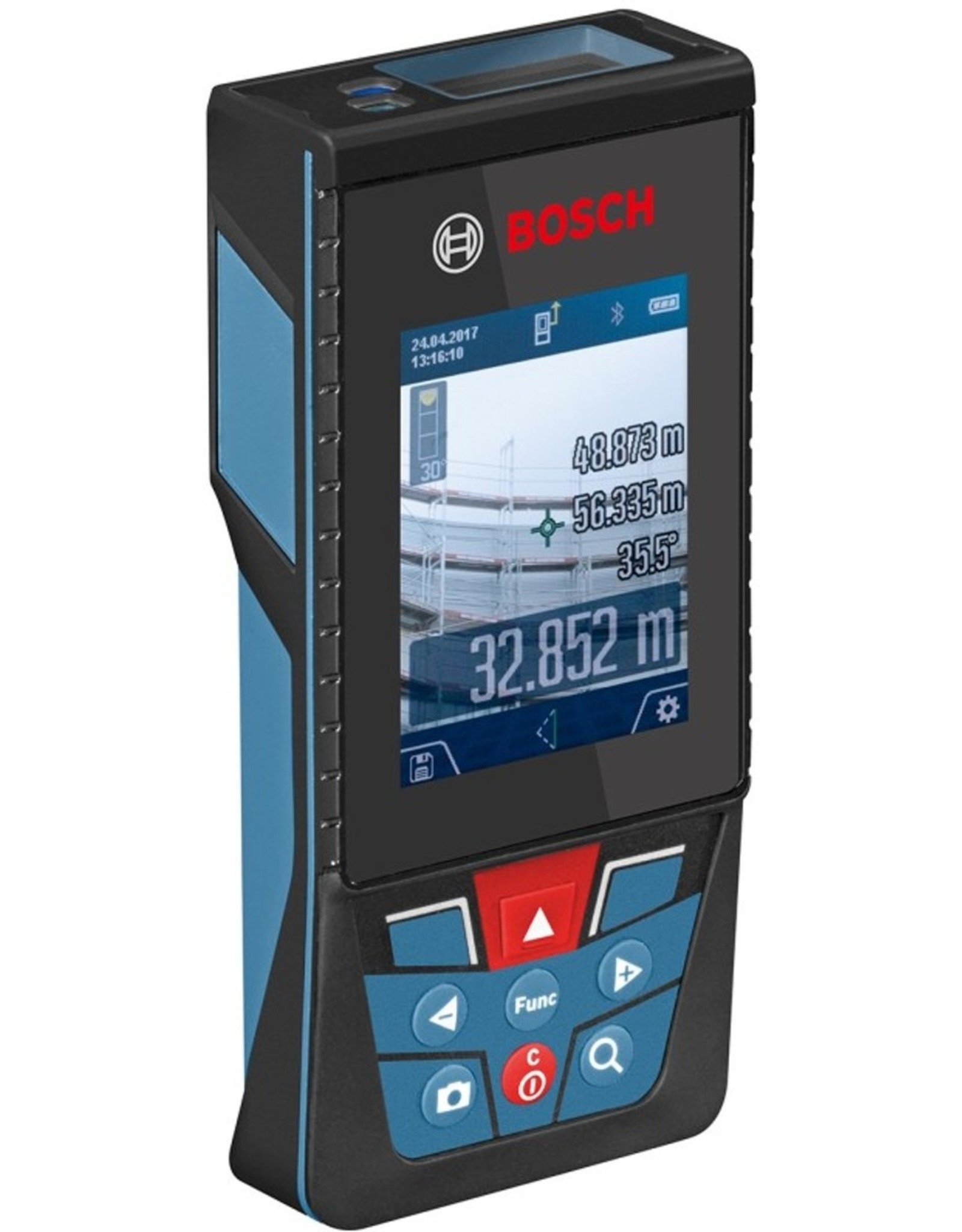 Bosch Professional Bosch GLM 120 C Professional Laserafstandsmeters