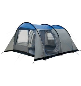 High Peak High Peak Albany 4 - Tunneltent -4-Persoons -  Grijs/Blauw