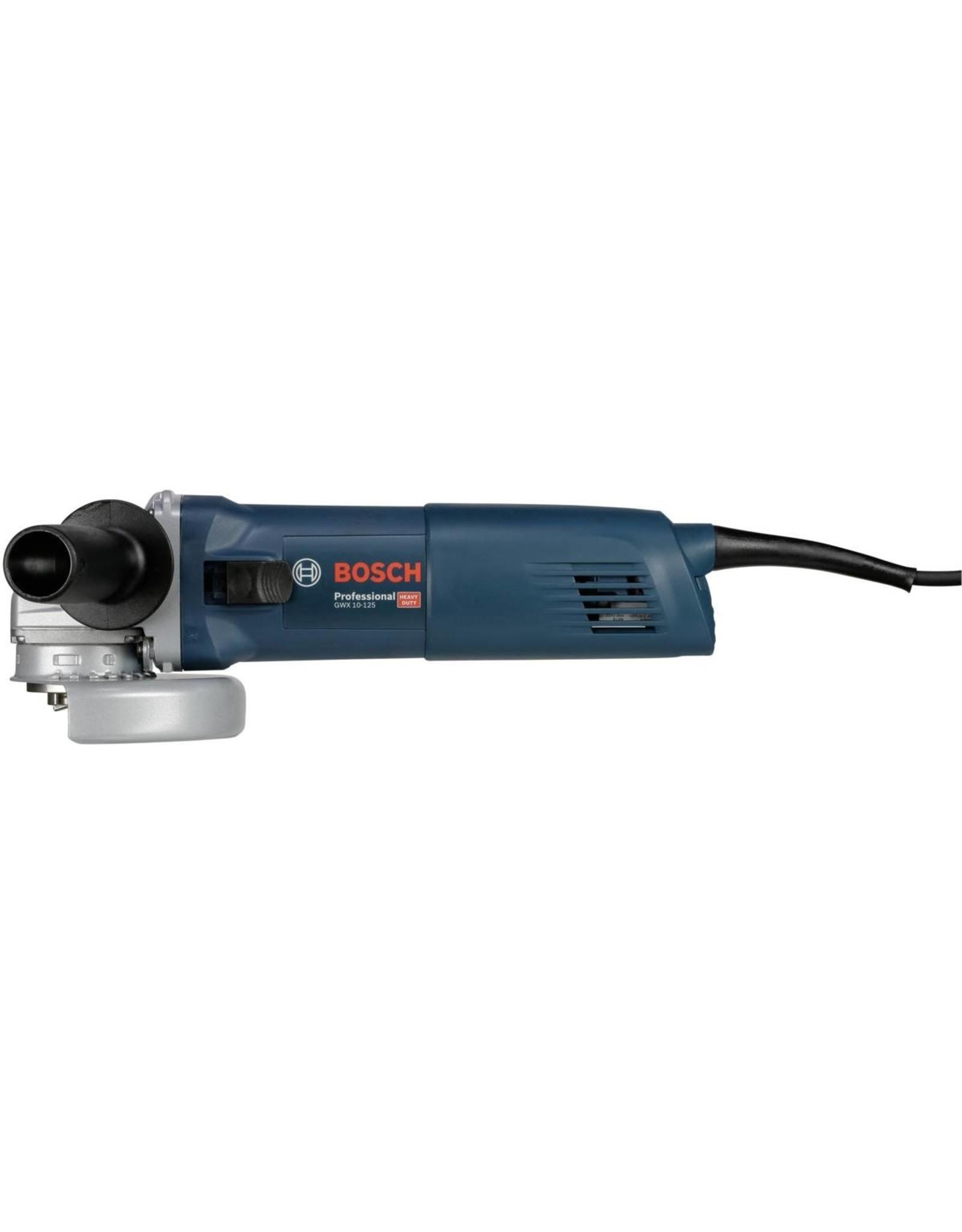 Bosch Professional Bosch GWX 10-125 - Haakse Slijpmachine - Met Accessoires - Rotatie Van 90 Graden