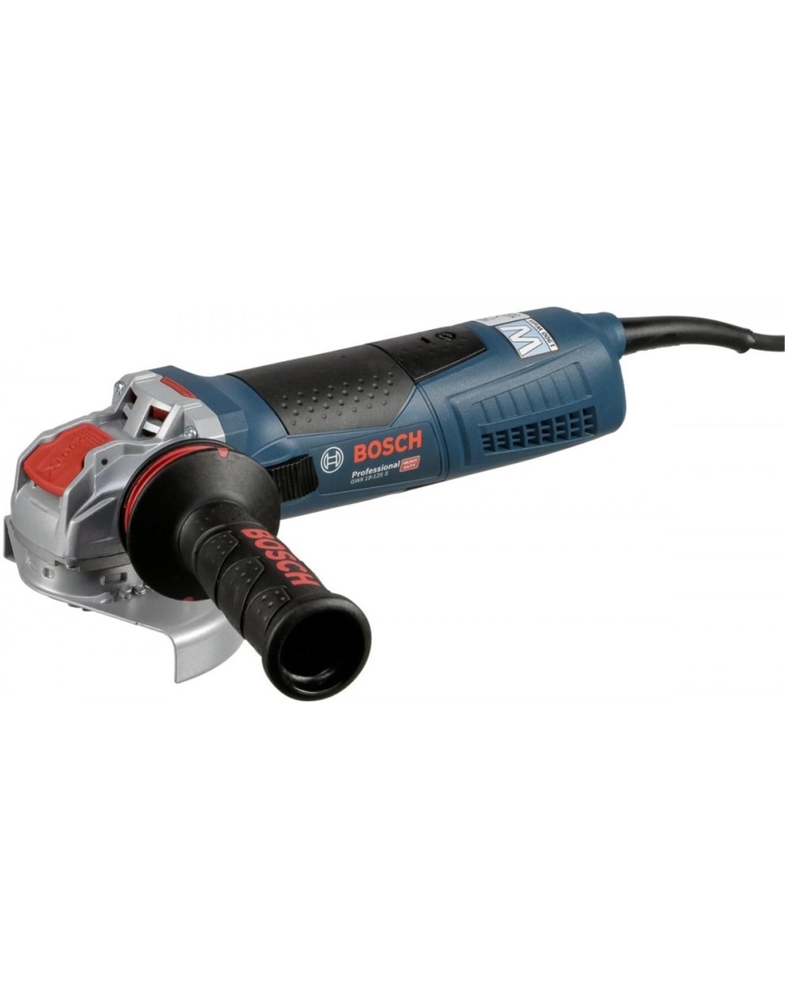 Bosch Professional Bosch GWX 19-125 S Professional haakse slijpmachine