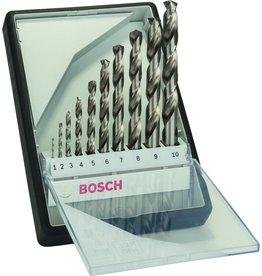 Bosch Bosch 10-delige Robust Line metaalborenset HSS-G, 135�