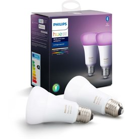 Philips Philips Hue Duopack - White and Color Ambiance- E27 - Bluetooth