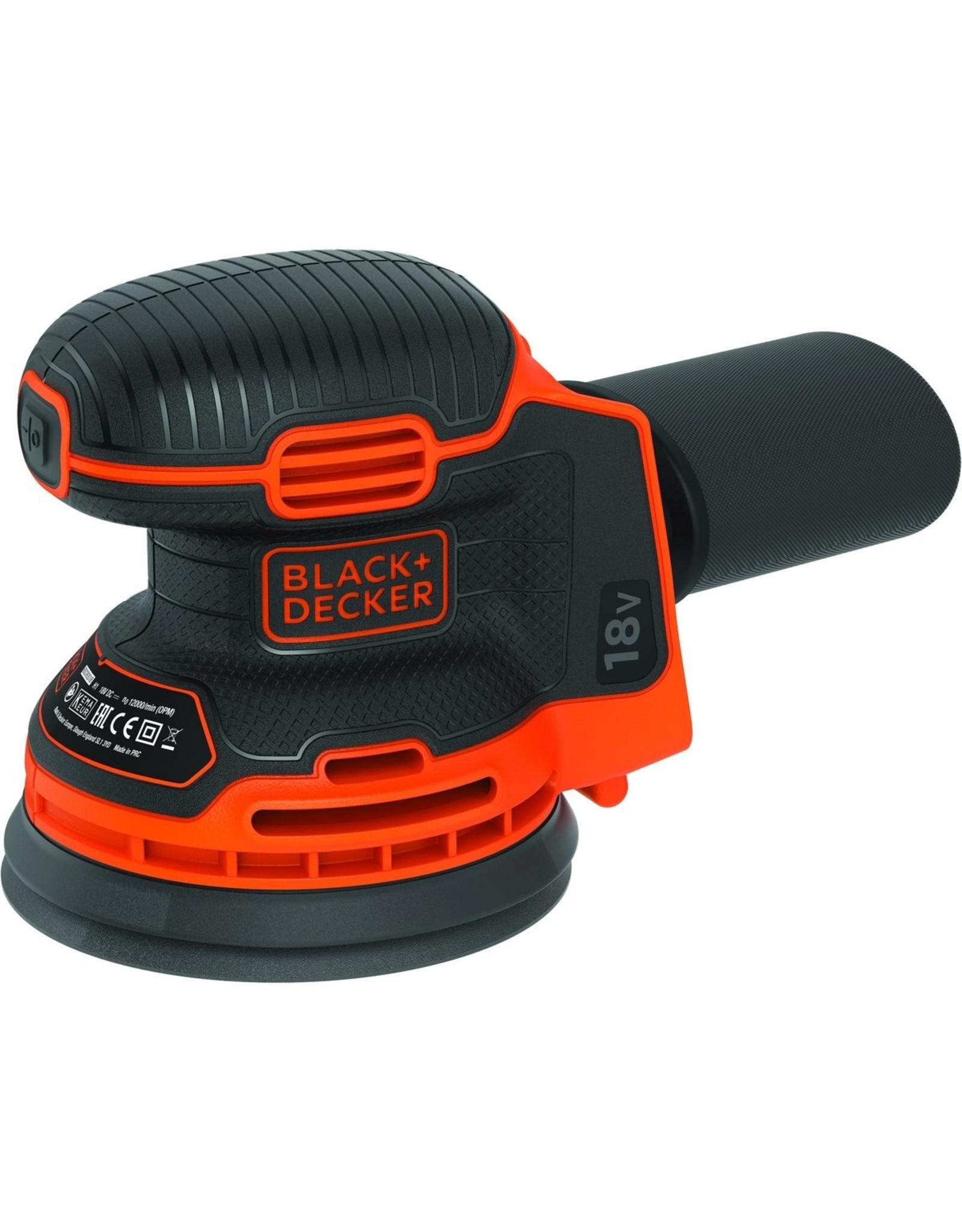 Black & Decker BLACK DECKER BDCROS18N-XJ Excentrische schuurmachine - 18V - zonder accu en lader