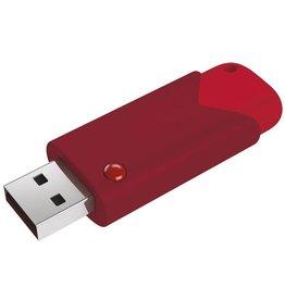 Emtec EMTEC USB stick Click B103R 512 gb Rood