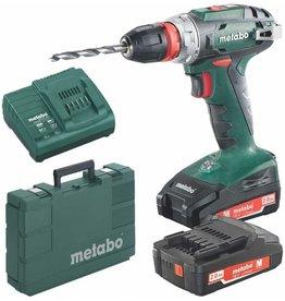 Metabo Metabo BS 18 L Quick 2x 2,0 Ah accu-boorschroefmachine