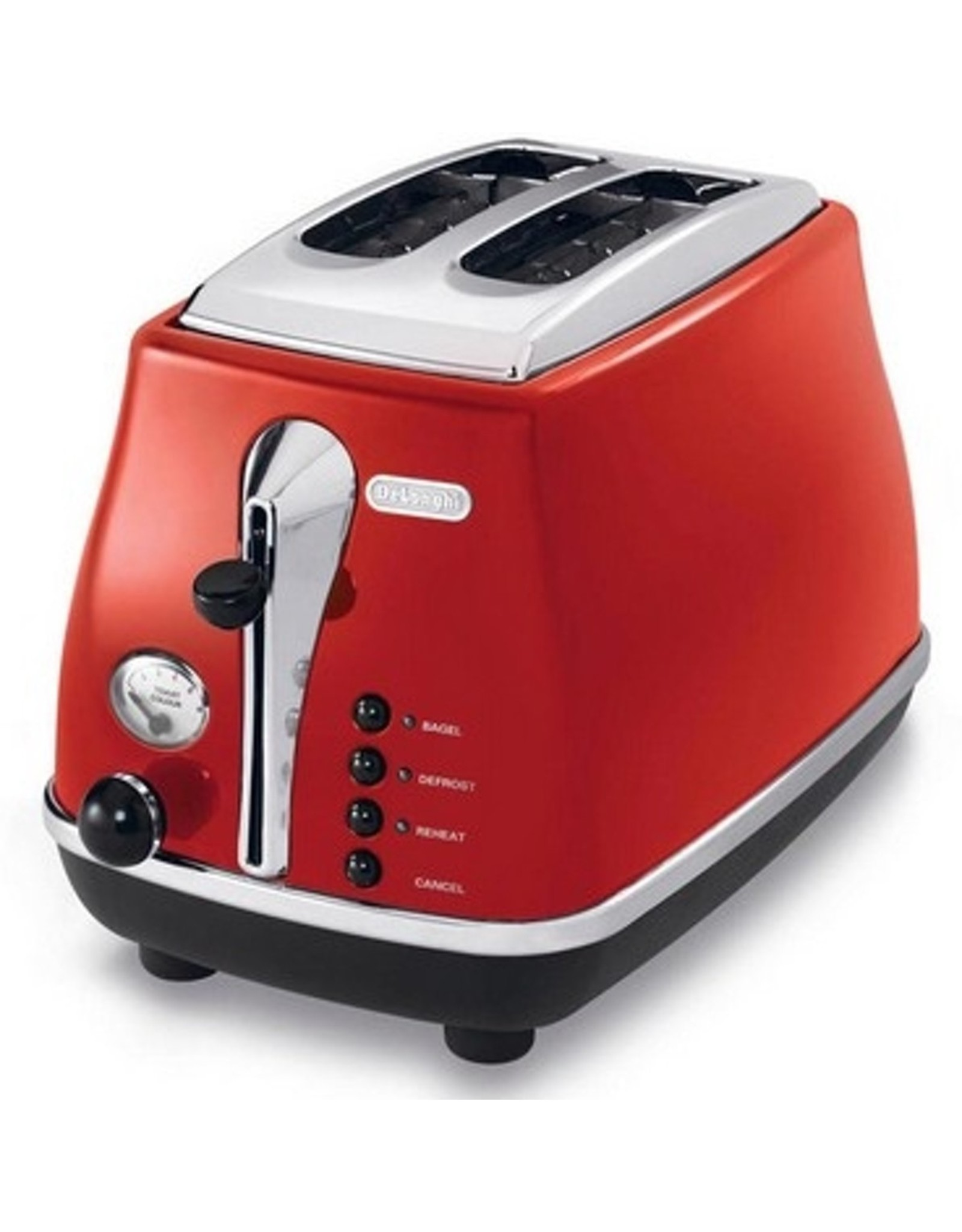 DeLonghi DeLonghi Icona CTO 2003.R broodrooster 2 snede(n) Rood 900 W