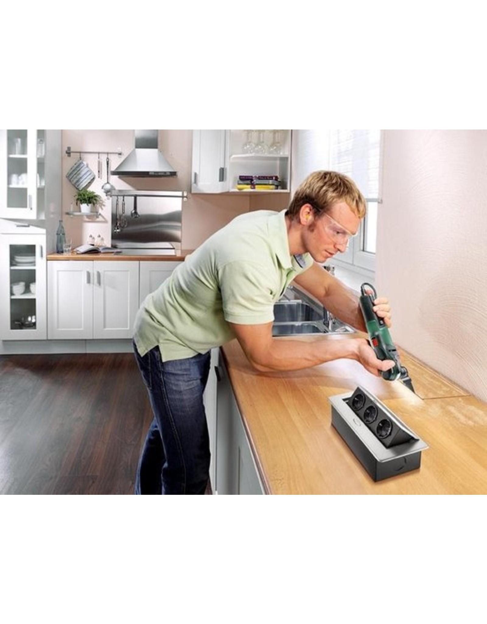 Bosch Professional Bosch PMF 350 CES Multitool - Oscillerend - 350 Watt - Inclusief 8 accessoires en kunststof koffer