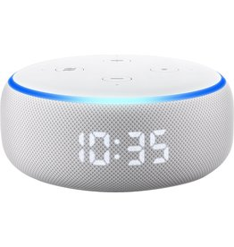 Amazon Amazon Echo Dot (3rd generation) met Klok - Wit