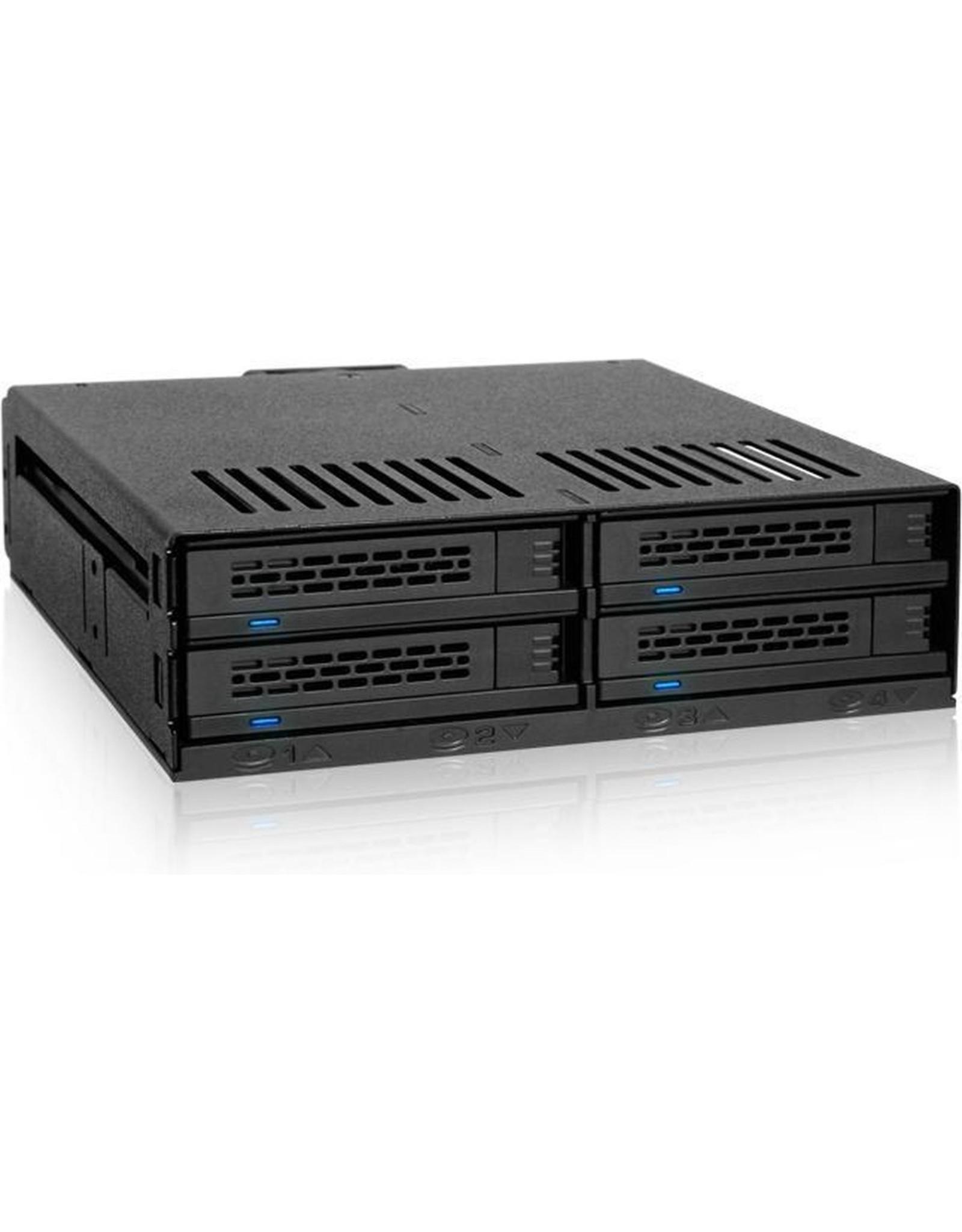 Icy Dock Icy Dock MB324SP-B disk array Desktop Zwart