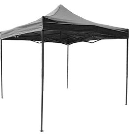 Garden Royal Garden Royal Easy Up Partytent 3x3 Zwart waterdicht