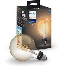 Philips Philips Hue filamentlamp globe - warmwit licht - G125