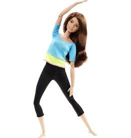 Barbie Barbie Made to Move - Blauwe Top - Barbiepop
