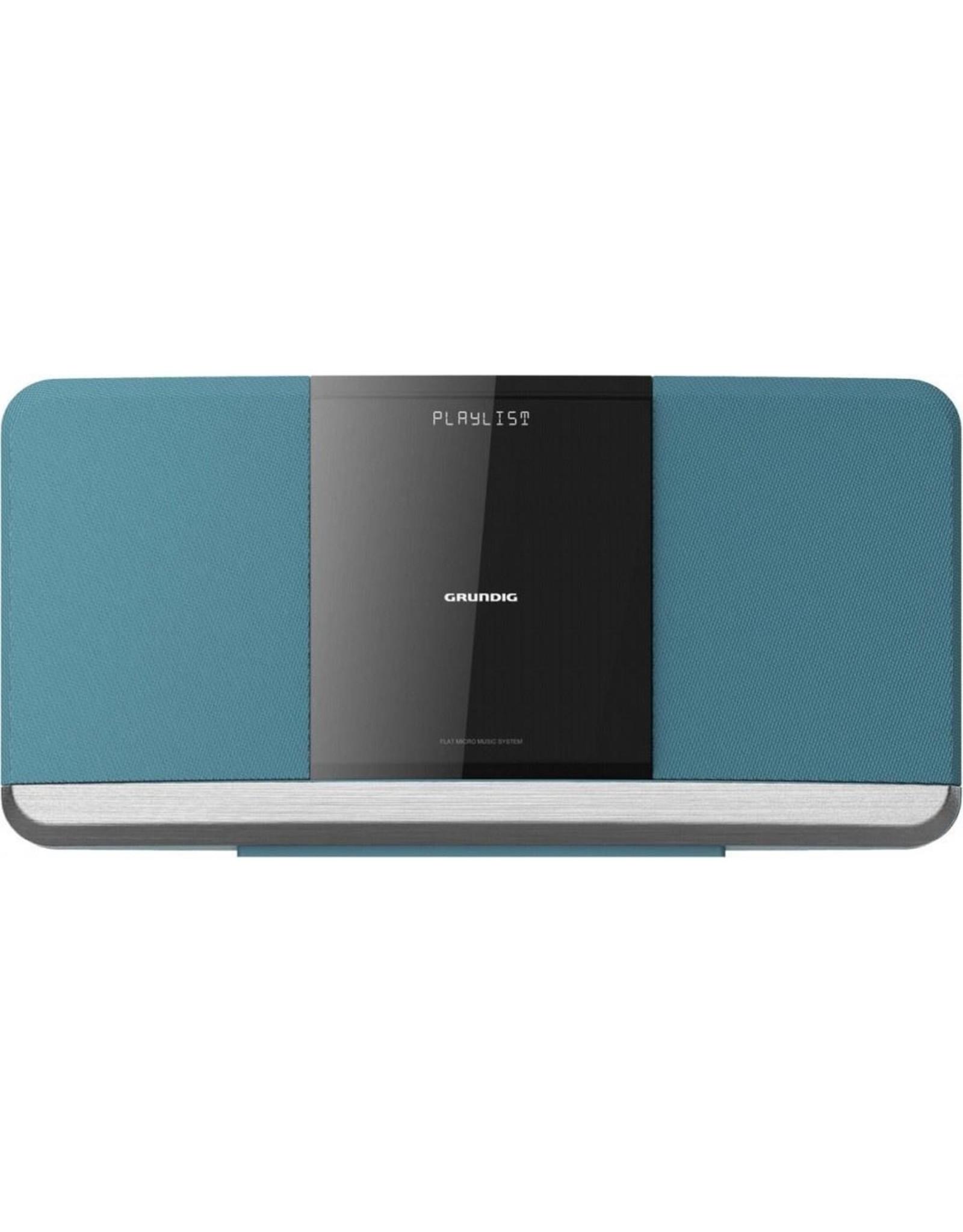 Grundig Grundig WMS 3000 BT DAB Home audio-microsysteem Blauw 20 W