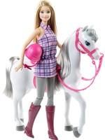 Barbie Barbie met Paard - Barbiepop