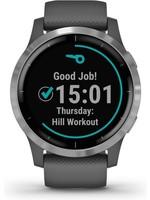 Garmin Garmin Vivoactive 4 - Smartwatch - 45 mm - Donkergrijs/zilver