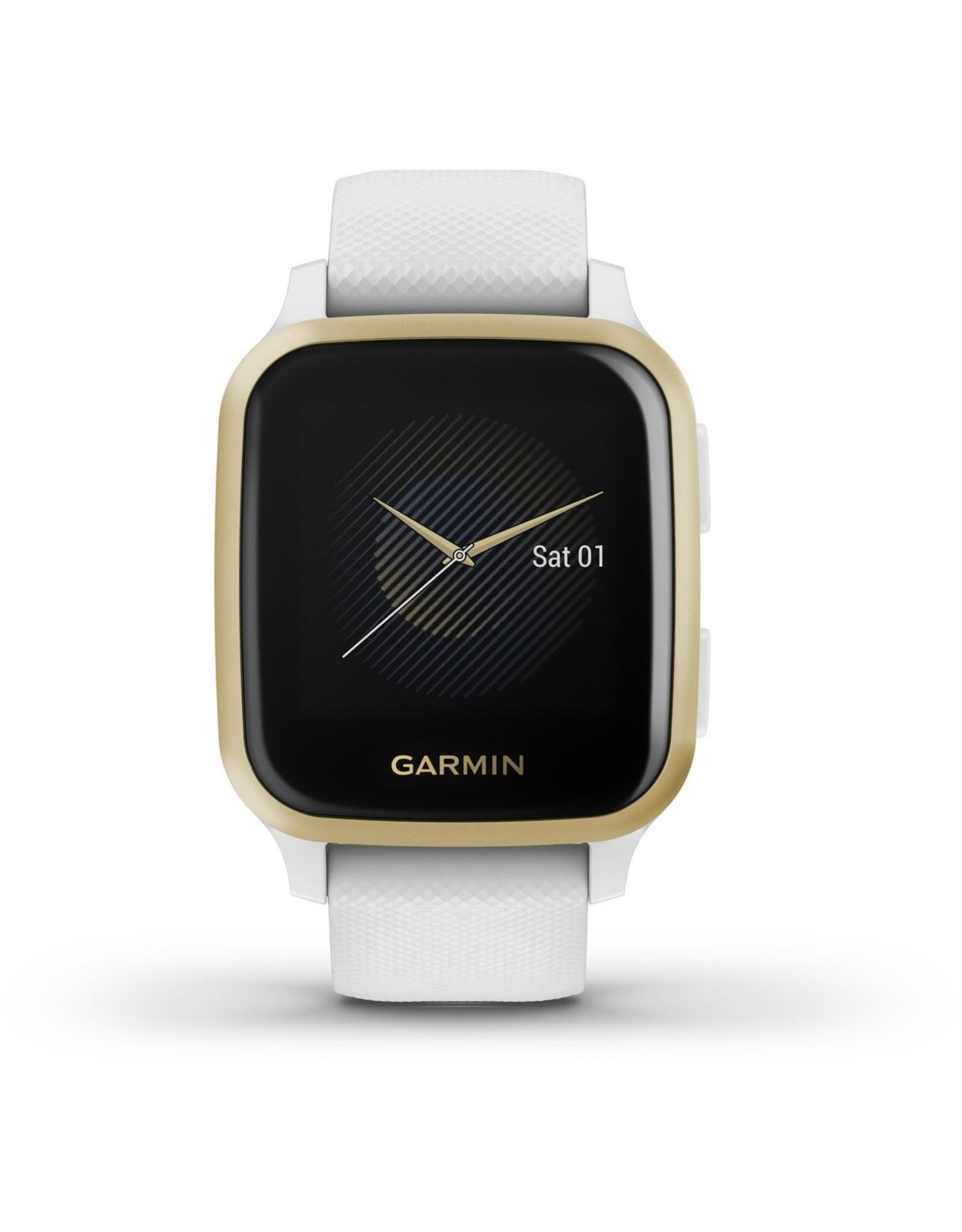 Garmin Garmin Venu Sq - Smartwatch - Wit/Lichtgoud