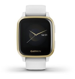 Garmin Garmin Venu Sq - Smartwatch - Wit/Lichtgoud