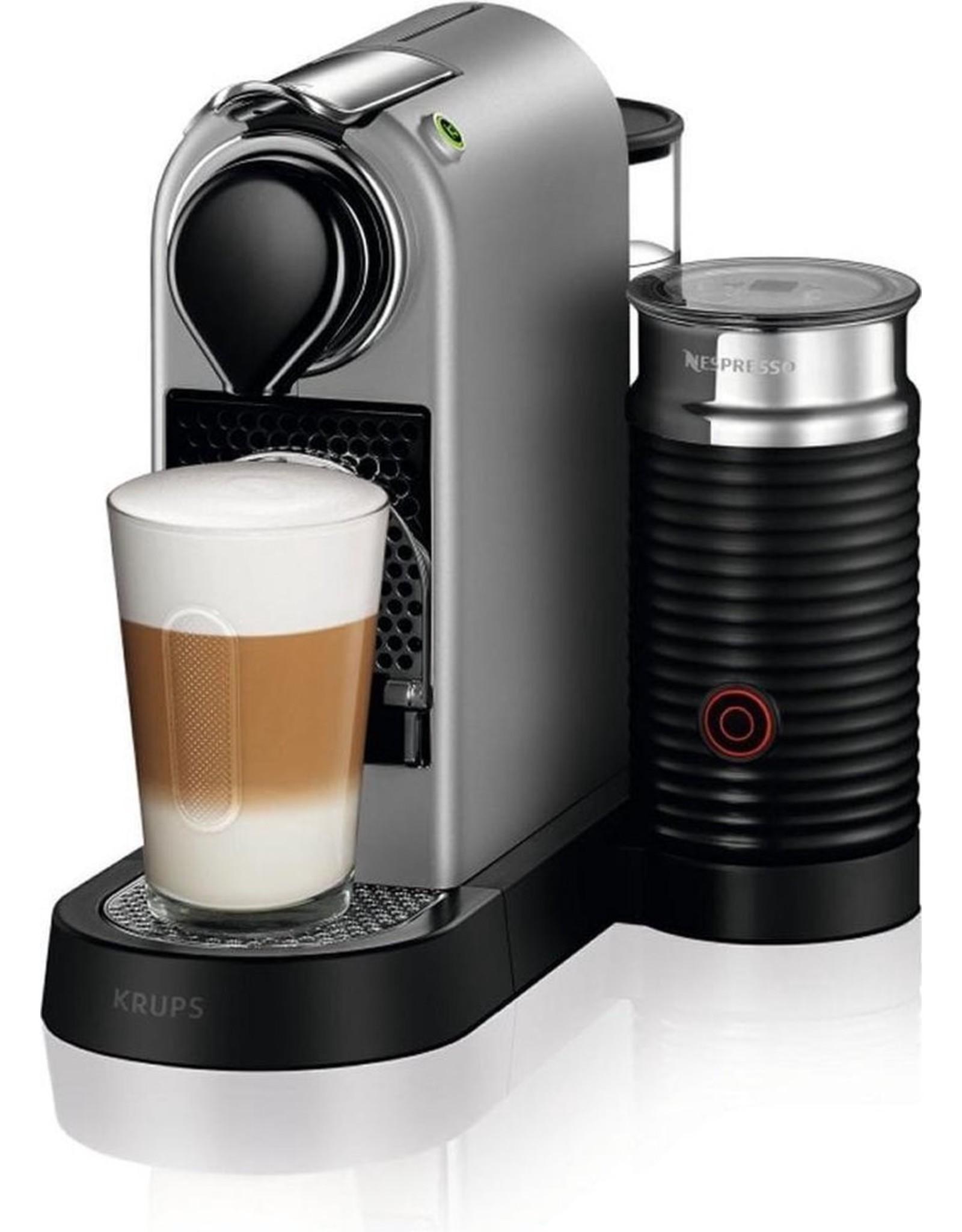 Krups Krups Nespresso Citiz & Milk XN761B10 - Koffiecupmachine - Zilver