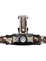 Ledlenser Ledlenser MH8 hoofdlamp oplaadbaar - 600 lumen -Focusseerbaar - Camo