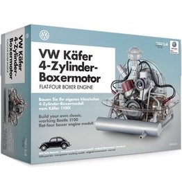 Franzis Franzis Bouwpakket Vw Kever 22 Cm Zwart/zilver 200-delig