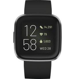 Fitbit Fitbit Versa 2 - Smartwatch - Zwart