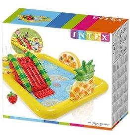 Intex Intex Kinderzwembad - Glijbaan - Waterparadijs - Twee badjes - Fruit thema