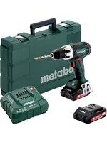 Metabo Metabo BS 18 LT 18V 2x 3,0 Ah   lader   koffer