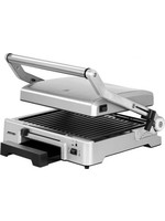 MPM MPM elektrische contact grill 2000W MGR-10M RVS