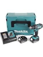Makita MAKITA DDF482RTJ Boor-/Schroefmachine Set - 18V - Li-Ion Accu - 2x 5.0Ah Accu - In Mbox