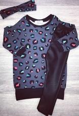 Kels sweaterdress print
