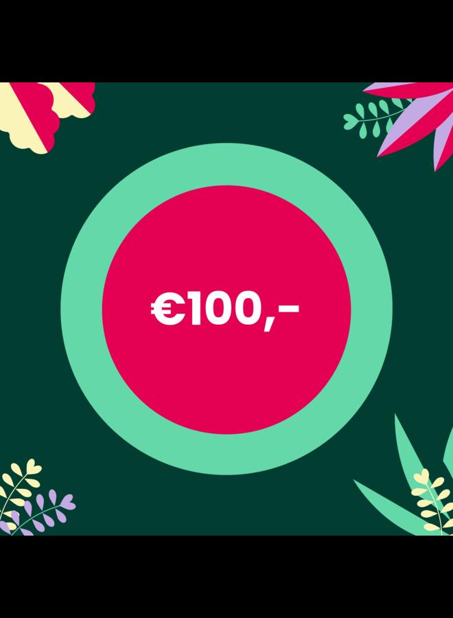 Digitale Cadeaubon - 100 euro